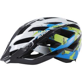 Alpina Panoma Helmet white-cyan-green